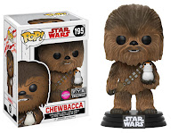 Pop! Star Wars: The Last Jedi - Chewbacca (Flocked)(FYE)
