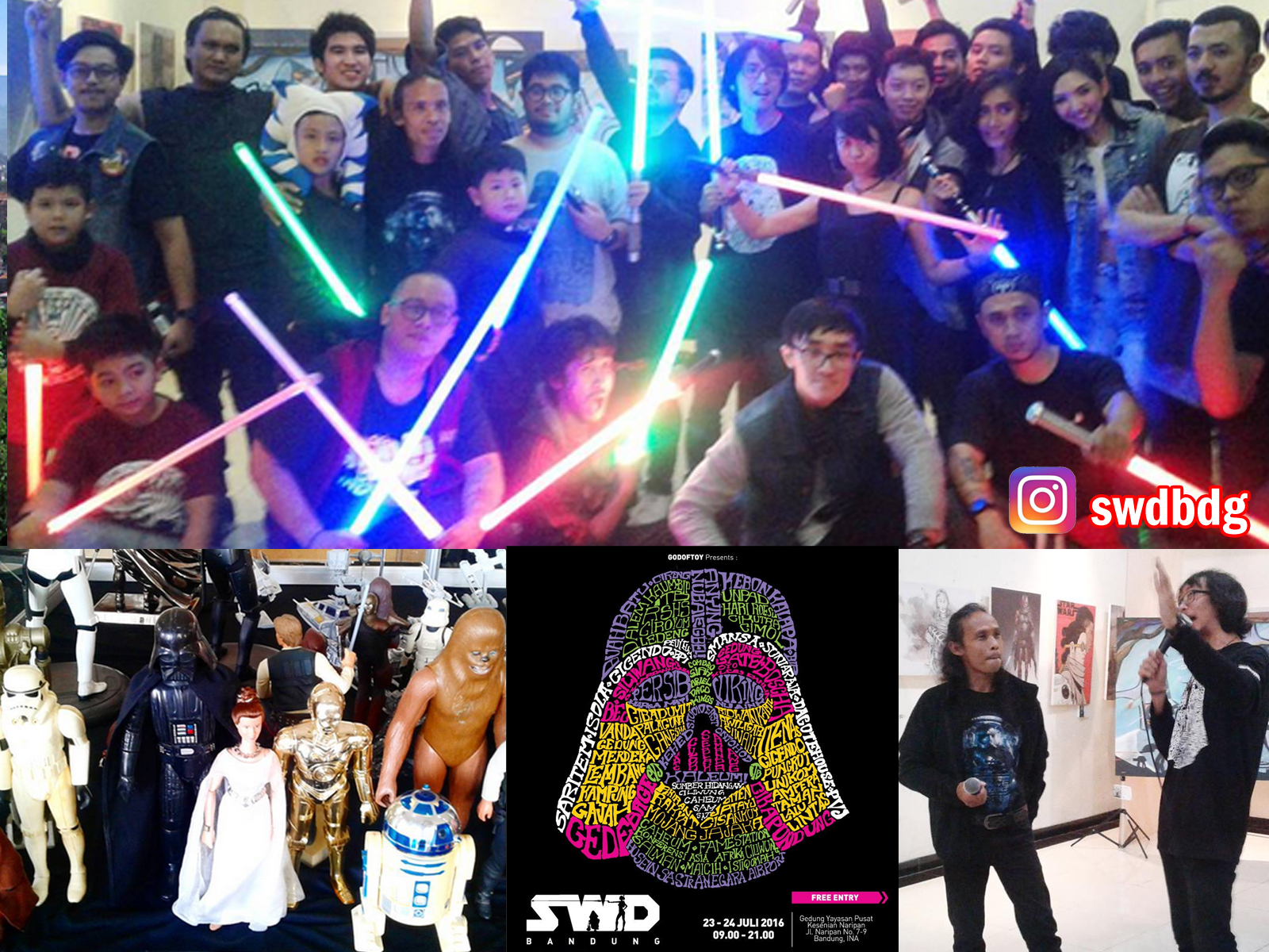 Space Wanderer Day Bandung SWDBDG 2016 di Gedung YPK
