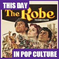 "The movie ""The Robe"" was released in theaters on September 16, 1953."