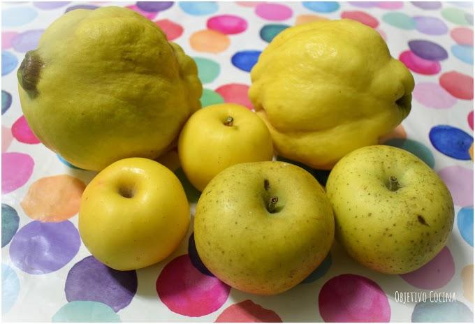 Mermelada de manzana y membrillo