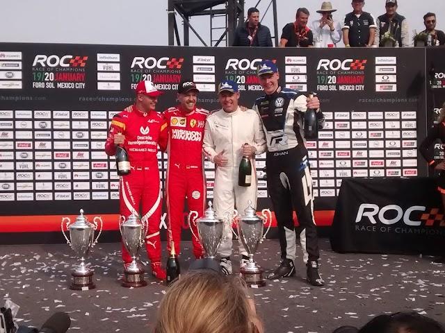 El equipo nórdico de Tom Kristensen y Johan Kristofferson se corona campeón en la Copa de Naciones de la ROC México 2019