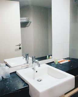 kebersihan toilet di putri duyung ancol