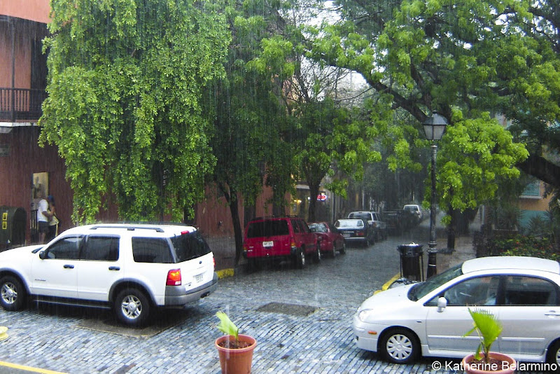Rain in San Juan Puerto Rico Romantic Couples Getaway