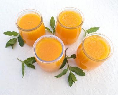 Gelatina de naranja sin azúcar