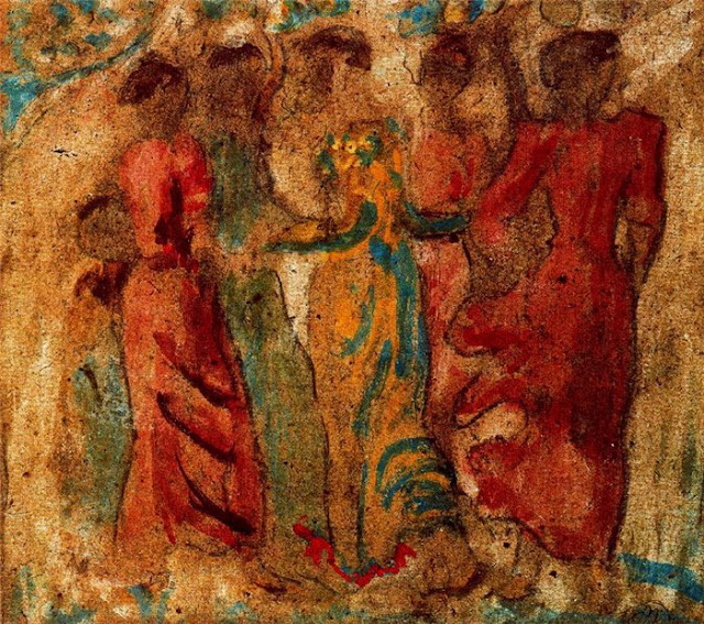Aristide Maillol Les Nabis Tutt Art Pittura