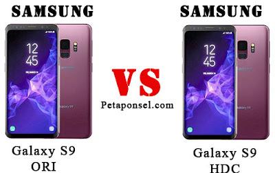 Cara Membedakan Samsung S9 Asli atau Palsu (HDC)