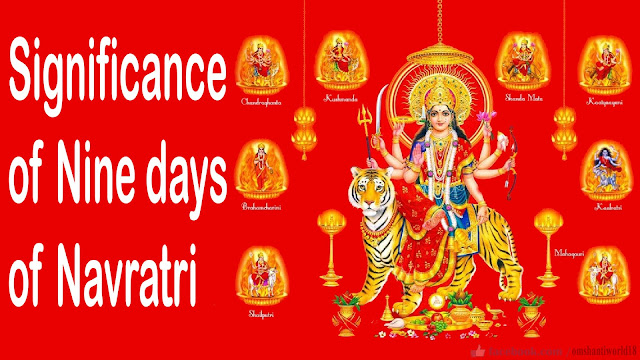 Significance of nine days of Navratri