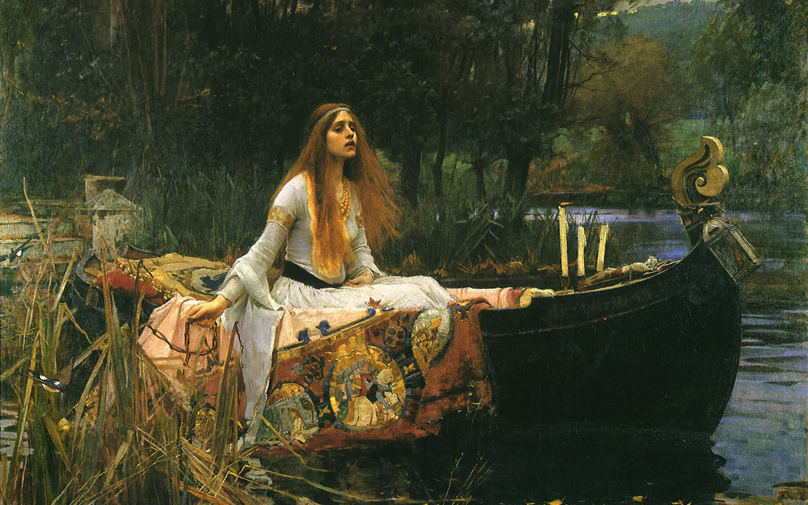 Brunette Girl Wallpapers Cartoon Wallpapers Photo Art John William Waterhouse Wallpaper