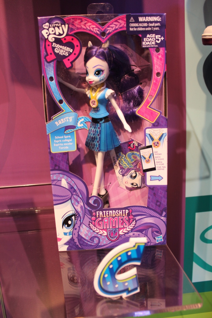 Equestria Girls: Friendship Games Rarity School Spirit Doll at NY Toy Fair 2015