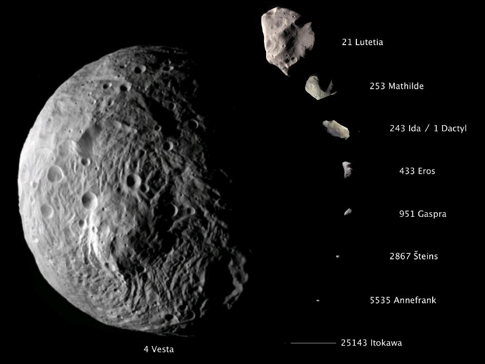 famous asteroids and comets - photo #20