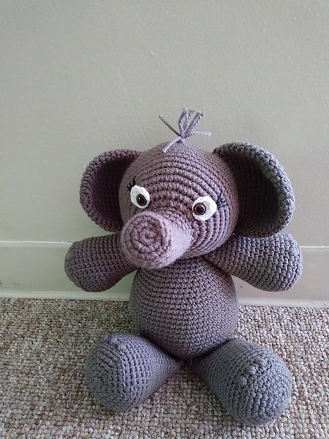 Häkelblog Täglich Neue Anleitungen Amigurumi Elefant Häkelanleitung