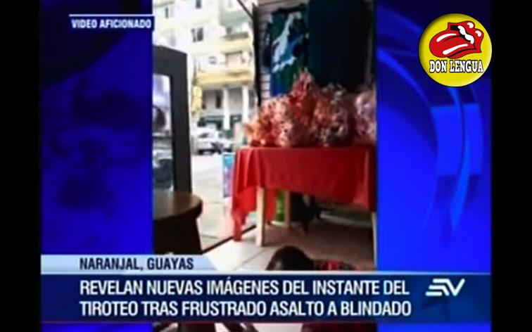 Venezolana implicada en un asalto armado a un camión blindado en Ecuador