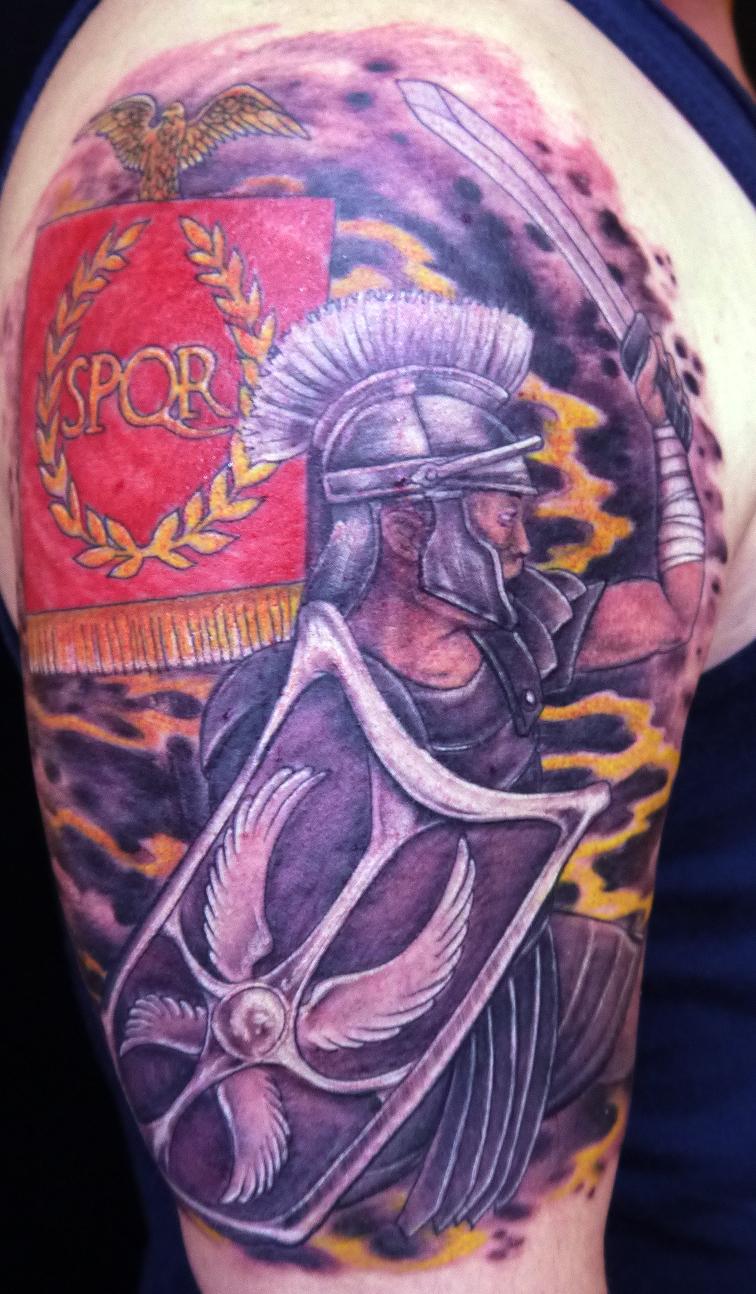 Roman Tattoo Spqr Roma...