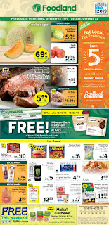 ⭐ Foodland Ad 10/16/19 ⭐ Foodland Weekly Flyer October 16 2019