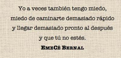 Cita 1 Con vistas a tu interior y al mío, de EmeCé Bernal - Cine de Escritor