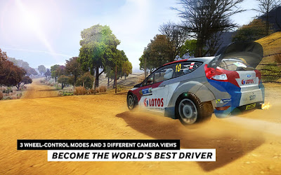 Download Game WRC The Official Game APK+DATA (MOD Unlimited Money) Terbaru 2017