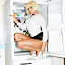 TF? Nicki Minaj Poses Inside A Fridge