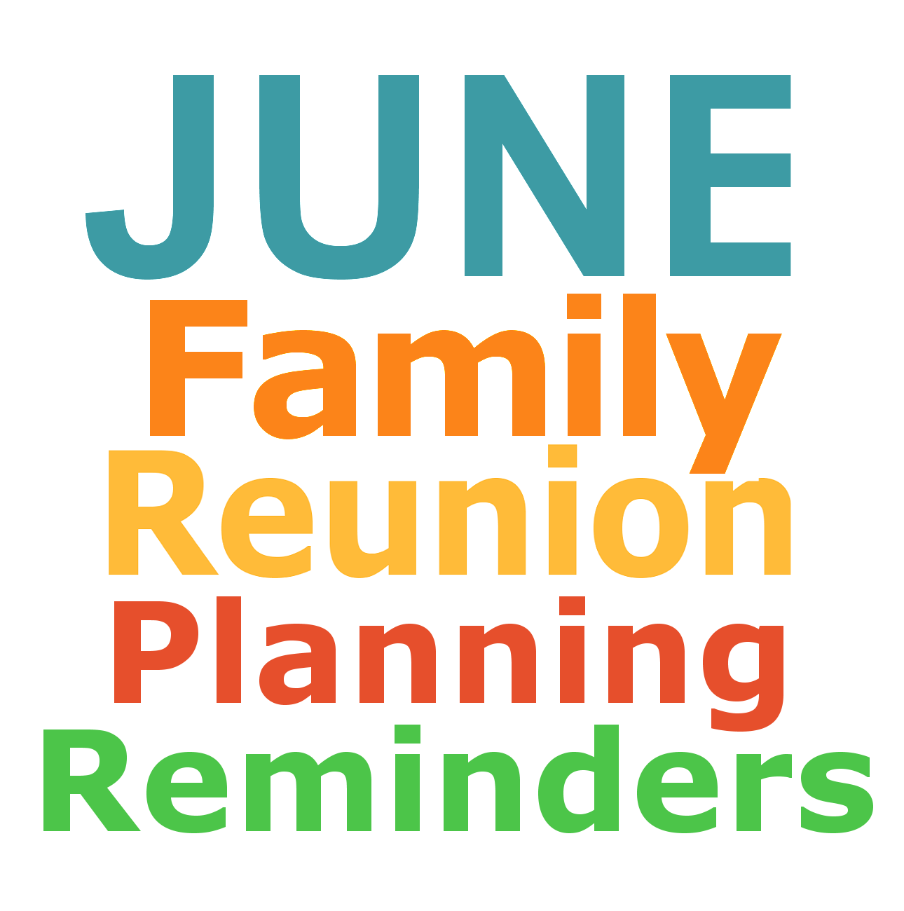 Family Reunion Planning Guides Apps And Books June