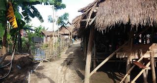 Poblado de mujeres Jirafa en Chiang Rai.