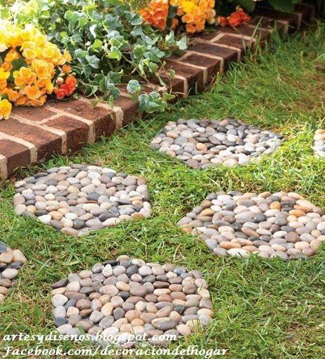 Pisos con piedras para jardines decoraci n del hogar for Piedras de jardin decorativas