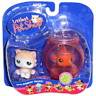 Littlest Pet Shop Pet Pairs Persian (#129) Pet