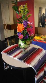 centro de mesa fiesta mexicana