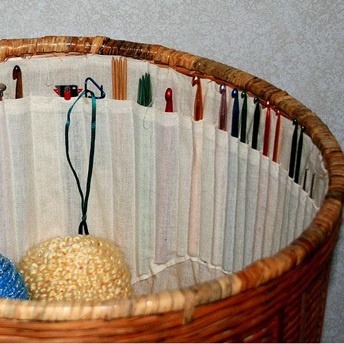 organizador ganchos, organizar las lanas, patrones para crochet
