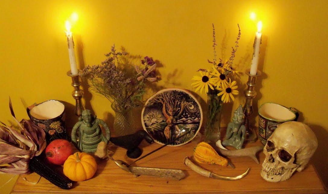 Samhain, la festa originale pagana di Halloween.