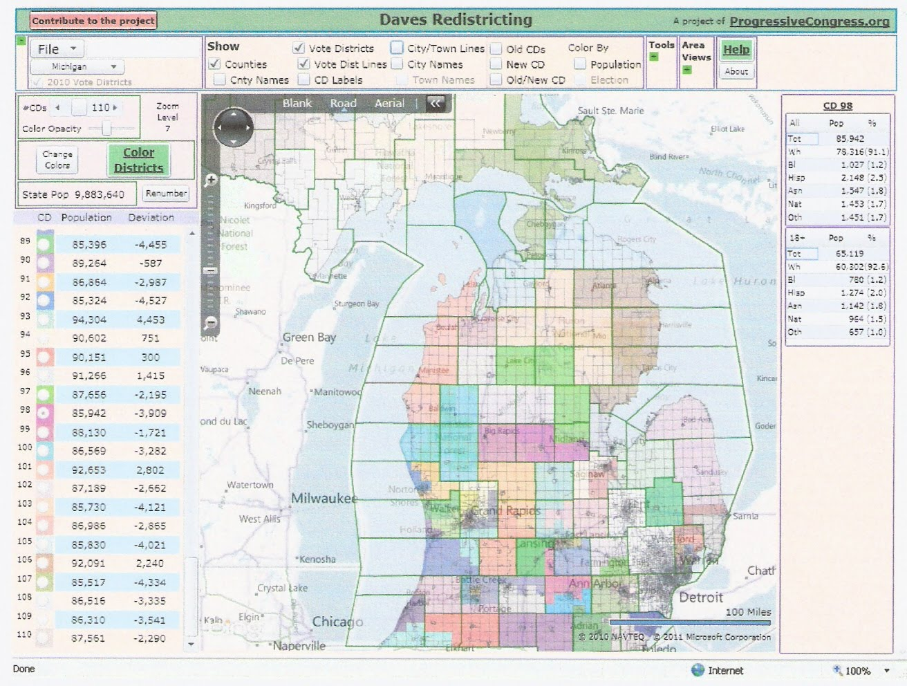 The Western Right Michigan Redistricting State House Part IV The Rest Of The State