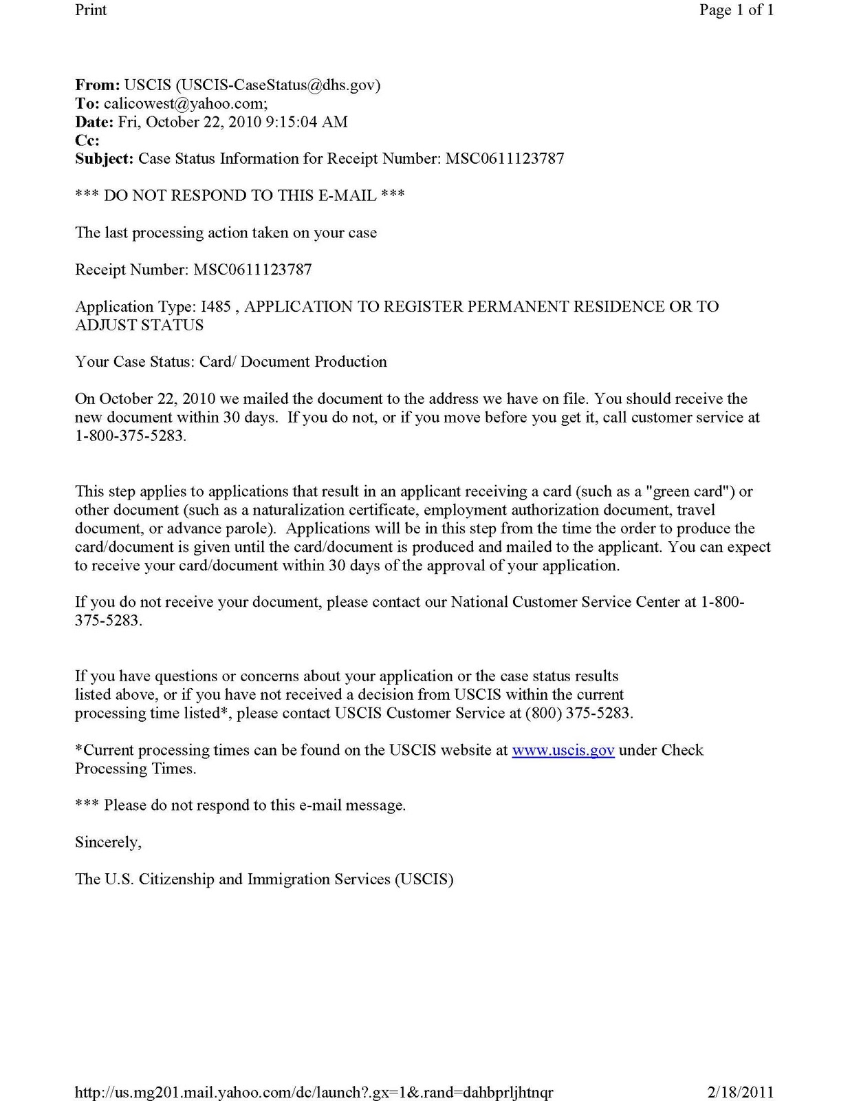 US Immigration Marriage Fraud: USCIS Case Status I-130, I