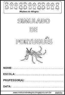 Simulado sobre a dengue