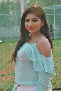 Madhulagna Das looks super cute in White Shorts and Transparent Top 52.JPG