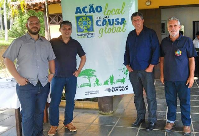 CAJATI PARTICIPA DA APRESENTAÇÃO DO PROGRAMA MUNICÍPIO VERDEAZUL
