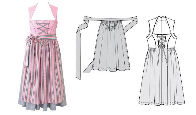 Burda dergisi ekim 2016 büyük beden elbise
