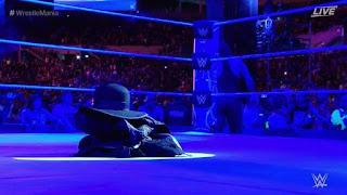 WWE wrestler the undertaker retires at Wrestlemania 33