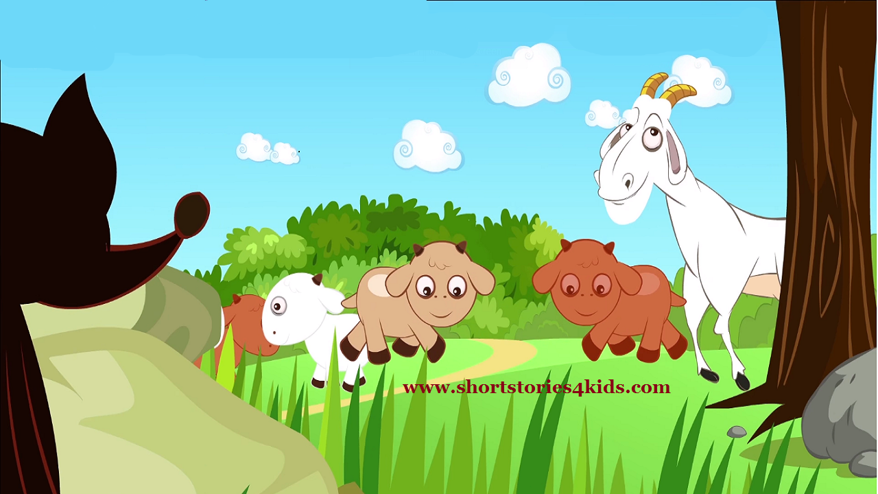 the wolf and the goat english short stories for kids short