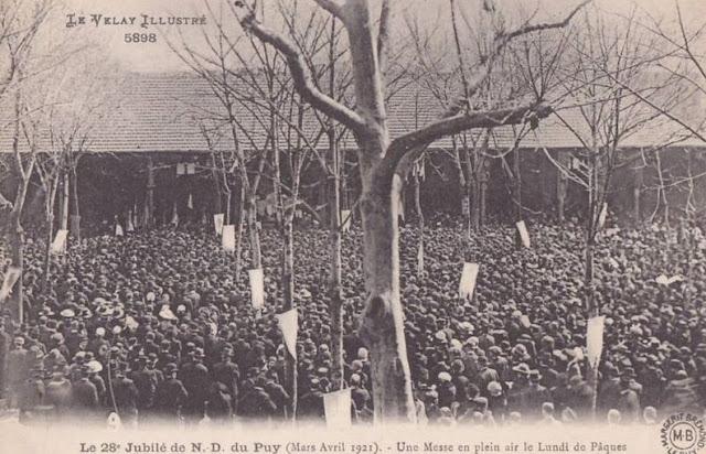 Paques en Auvergne.