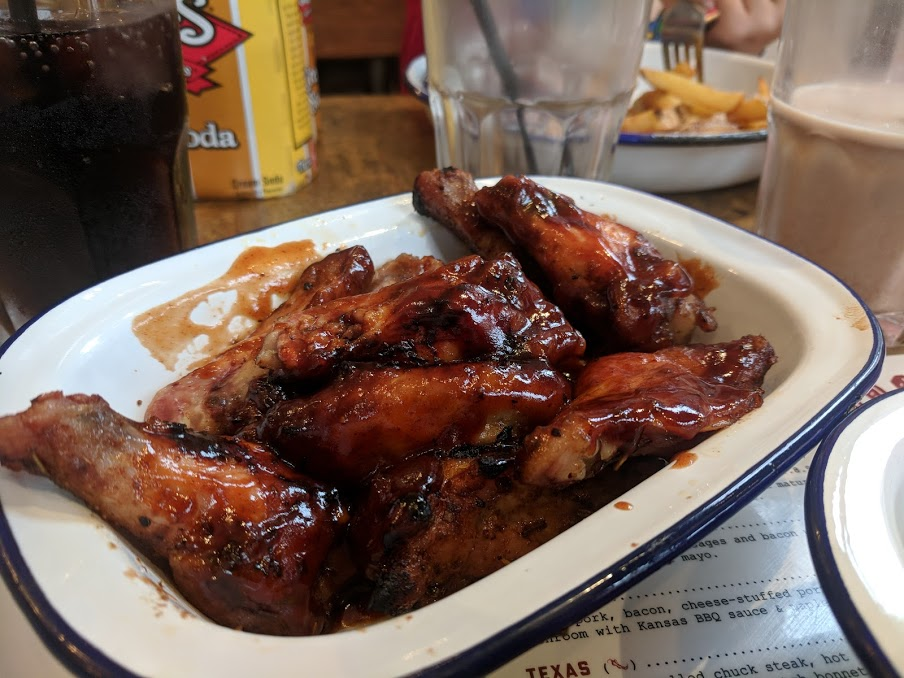 A Short Stay in Windsor with Kids  - blue grass windsor chicken wings