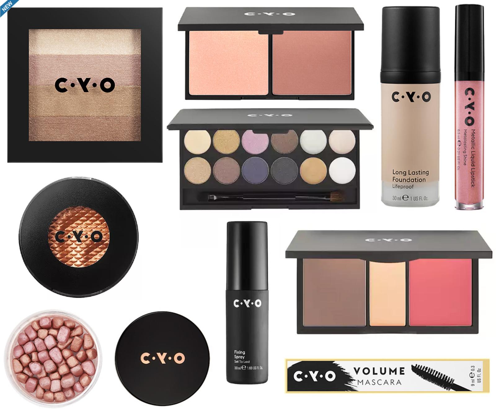 New Brand at Walgreens | C Y O  Cosmetics - Beauddiction