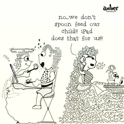 We don't spoon feed our kids!!