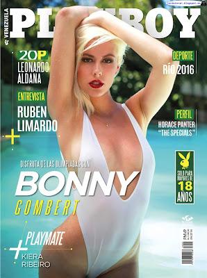 Bonny Gombert - Playboy Venezuela 2016 Agosto (33 Fotos HQ)