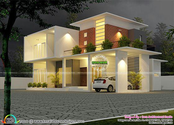 2500 sq-ft contemporary home