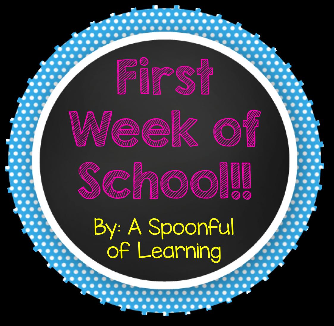 First Week of School! + FREEBIES!!