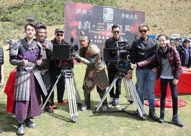 ทีมงานนักแสดง สามก๊ก Dynasty Warriors