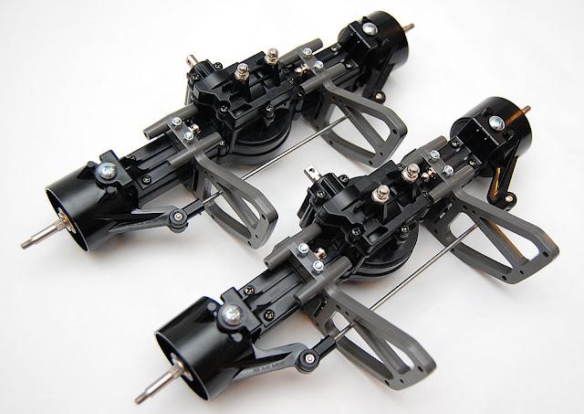 Tamiya TXT-1 axles