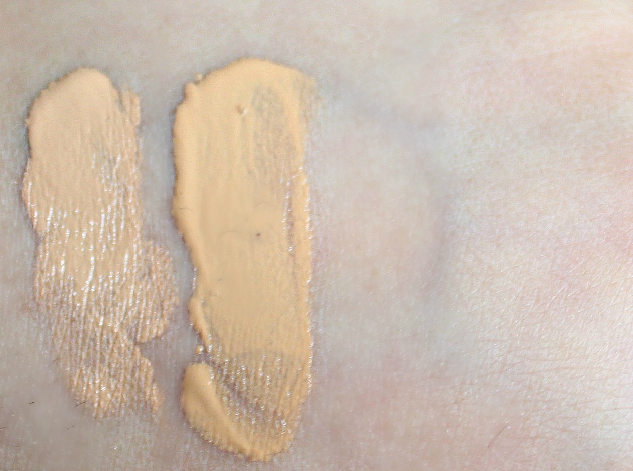 NARS Matte Skin Tint in St Mortiz review and swatch vs NARS tinted moisturiser st moritz medium 1