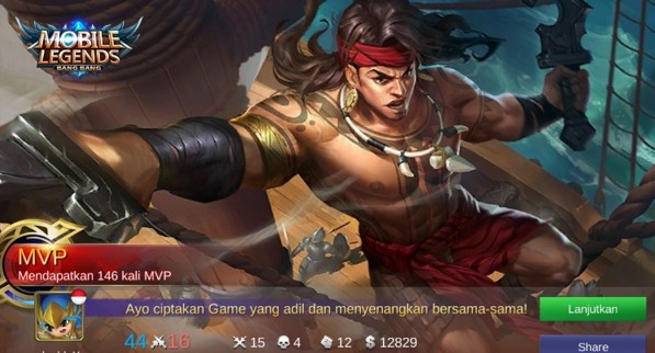 Lapu-Lapu Si Hero Mobile Legend