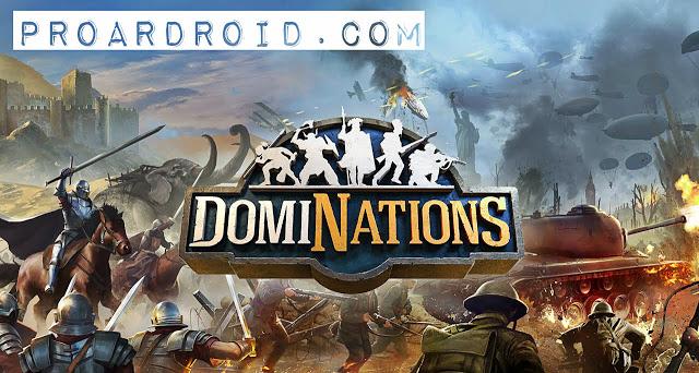 تحميل لعبة الاستراتيجية الرهيبة DomiNations APK نسخة مهكرة للاندرويد باخر تحديث !