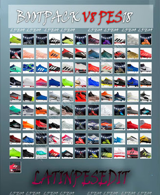 PES 2018 Bootpack v8 AIO by LPE09