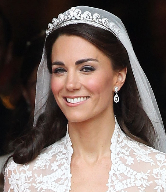 Tremendous Wedding Hairstyles Princess Bridal Hairstyles With The Crown Jewels Short Hairstyles Gunalazisus